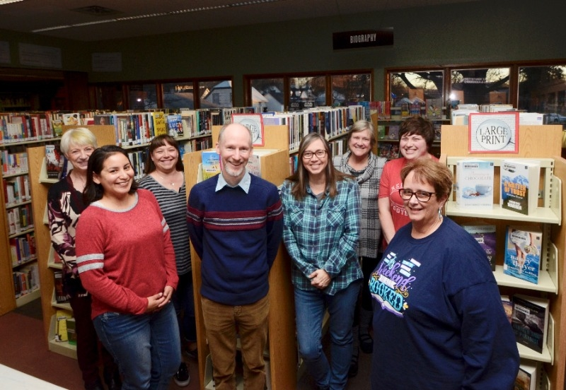library staff photo