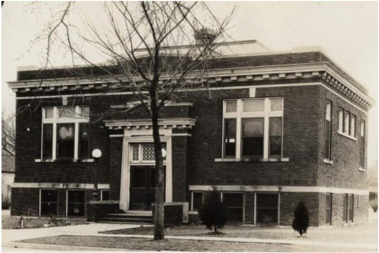 City Of Crete Nebraska History Of Crete Public Library