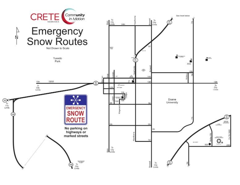 City Of Crete Nebraska Winter Weather And City Services
