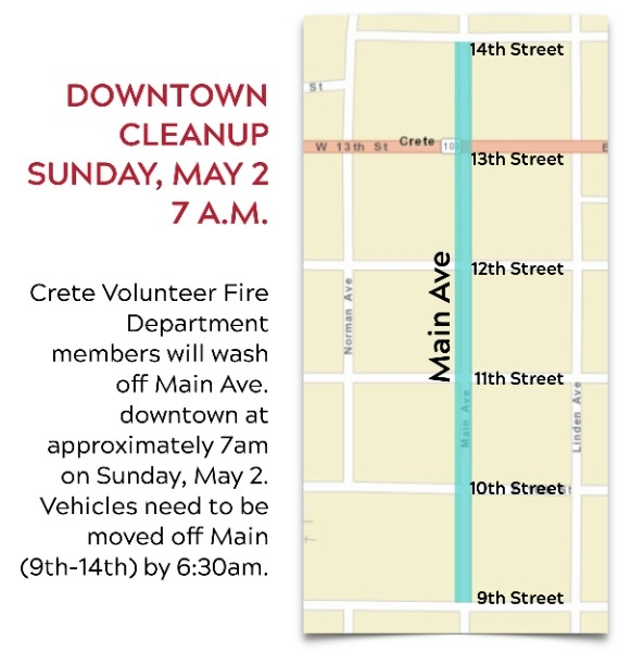 downtown cleanup map
