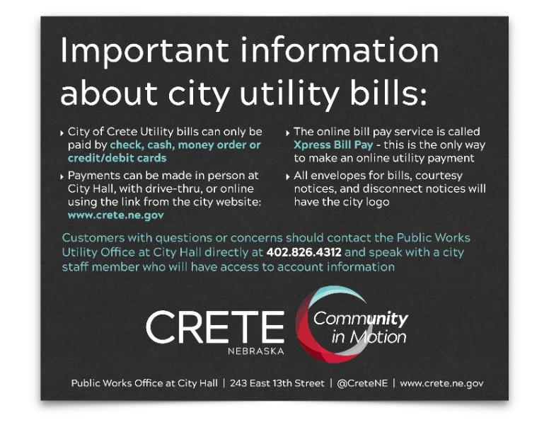 utility account information